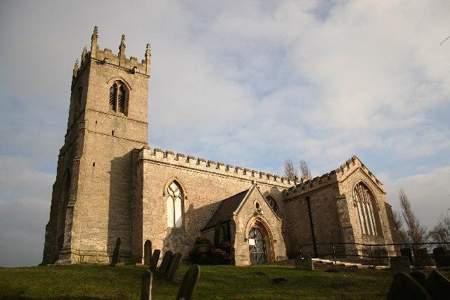 All Saints' church, Harworth, Notts.