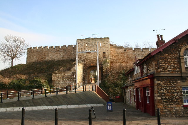 Lincoln Castle, West Gate