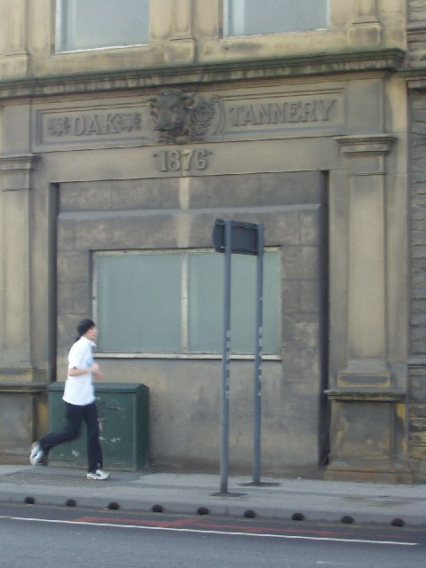 Old Oak Tannery doorway, 1876, Kirkstall Road