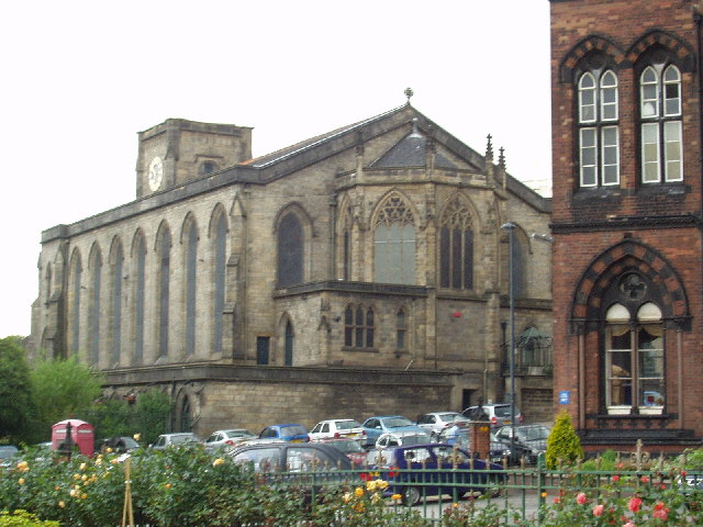 St Georges Church, Great George St, Leeds