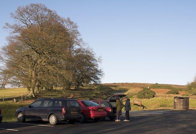 Car Park at Hutton-le-Hole