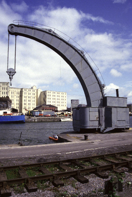 Steam crane, Bristol Docks