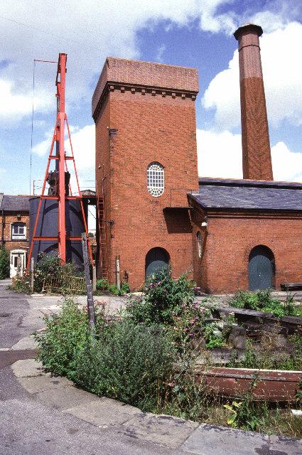 Hydraulic pumping station, Underfall Yard, Bristol Docks