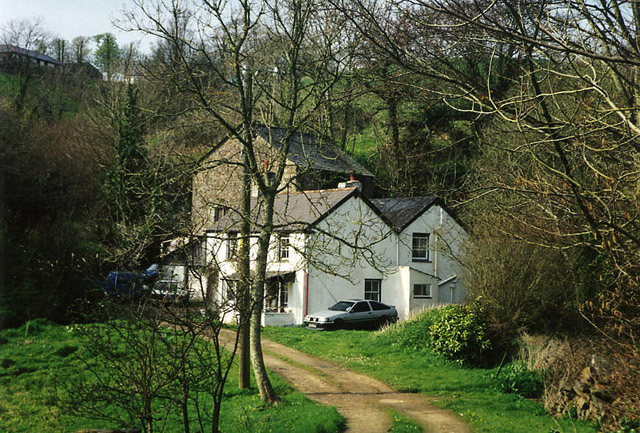 Stratton and Bude: Poughill Mill, Bush