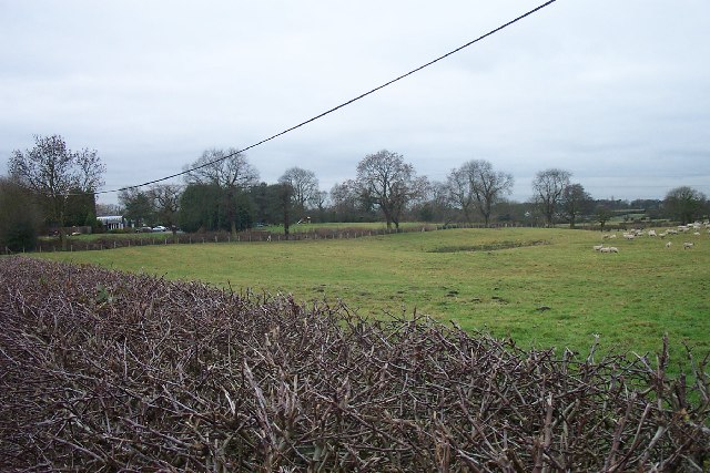 South East corner of Mobberley Parish