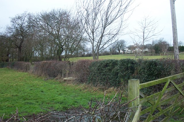 South East corner of Mobberley Parish