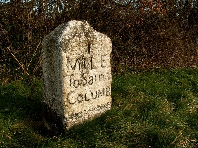 1 Mile to St. Columb