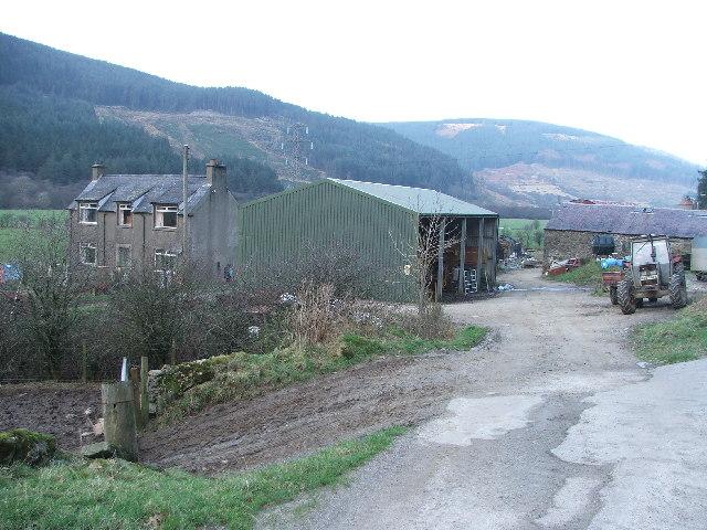 Auchnasavil Farm.