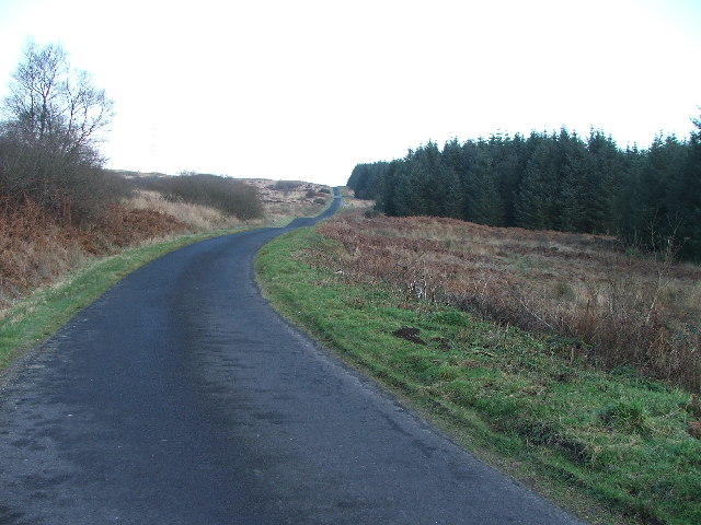 Campeltown to Kennacraig road.