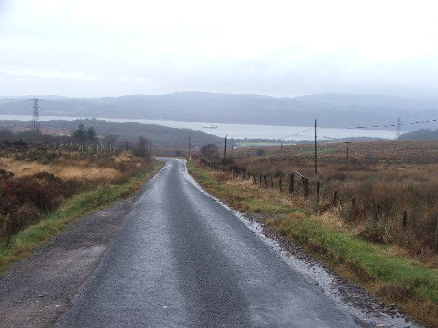 Road to Kennacraig.