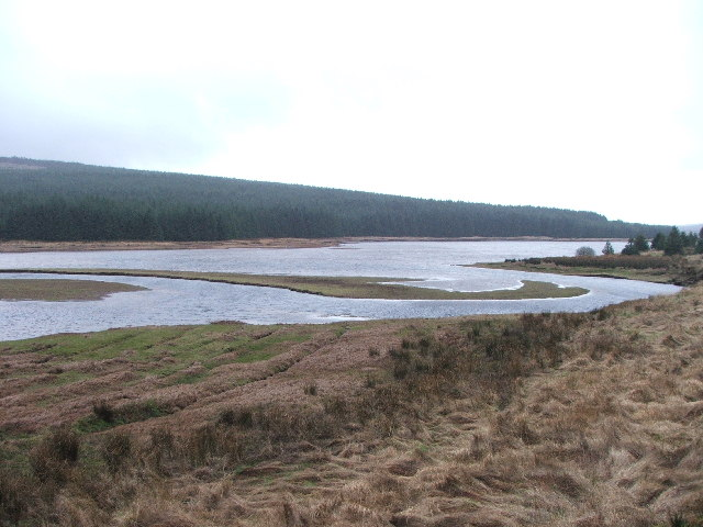 Northern end of Lussa Loch.