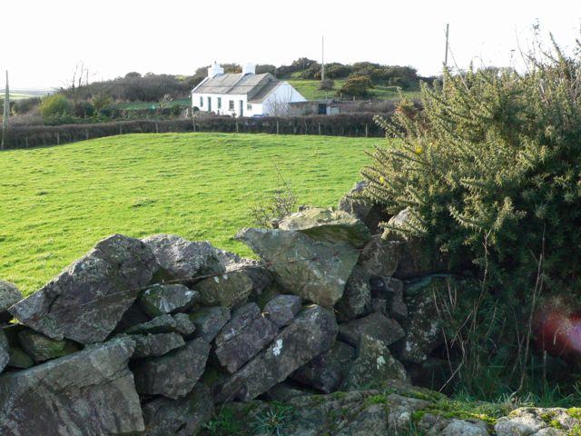 Cae'r-wyn & Dry Stone Wall, Bodorgan, Anglesey.
