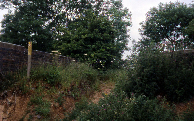 Old railway bridge near Hallaton