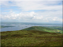 R7378 : Lough Derg from Arra Mountains by Elaine Cox