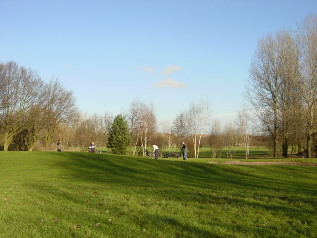 The 4th Green at Kirkby Municipal Golf Course