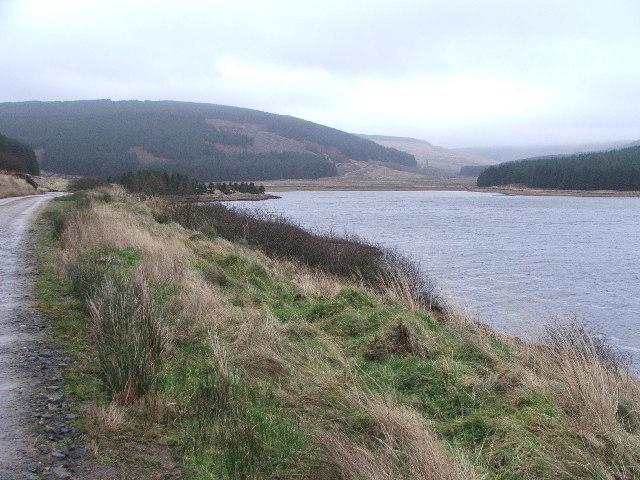Western shore of Lussa Loch.