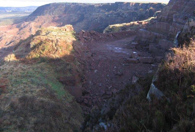 Sandstone Quarry Ireland Sandstone Sea Cliff Quarry