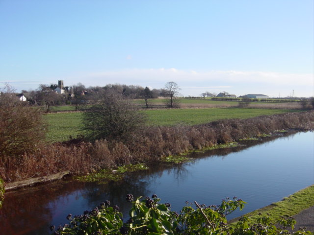 Melling from the canal bridge