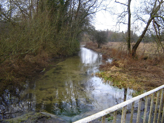 Bourne Rivulet, near Hurstbourne Priors