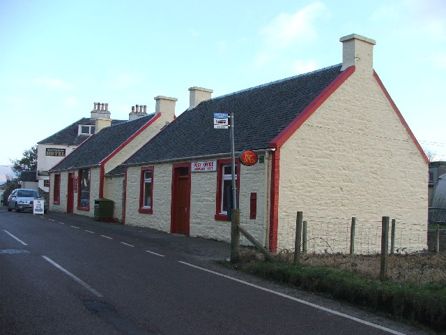 Carradale post office.