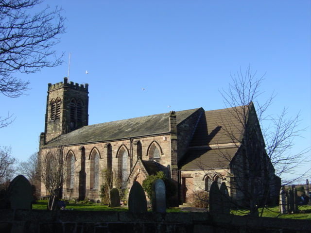 Church of St Thomas and the Holy Rood, Melling