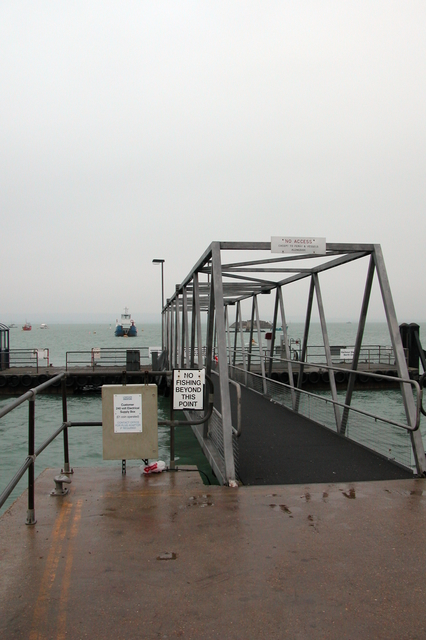 The Hayling ferry, goes between Hayling Island and Portsea Island