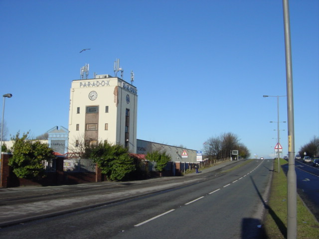 The Paradox, Former Vernons Pools Building, Aintree