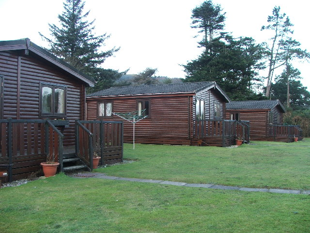Holiday Chalets, Carradale.