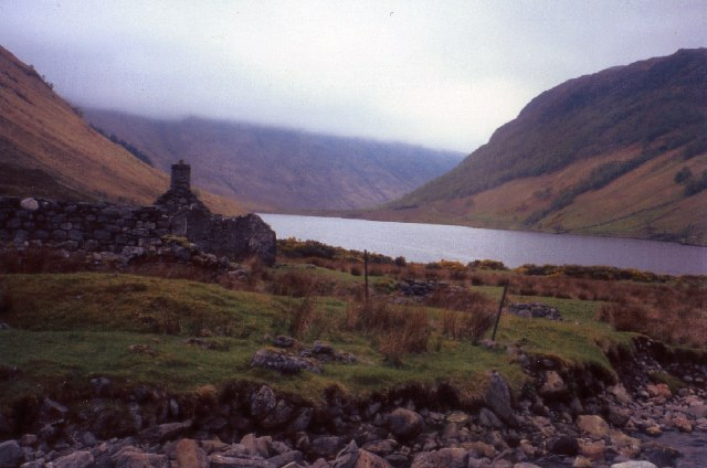 Old ruin of Carnach