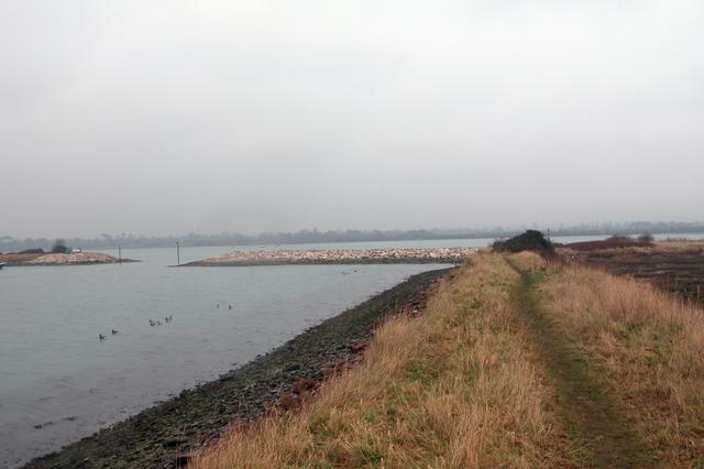Looking towards Duckard Point, Northney, Hayling Island