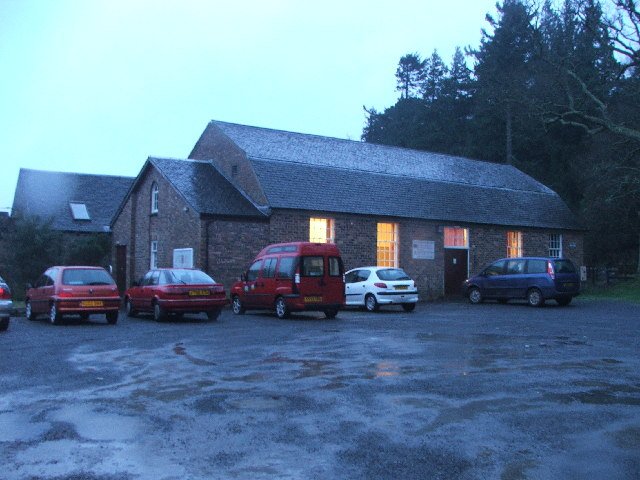 Carradale Village Hall.