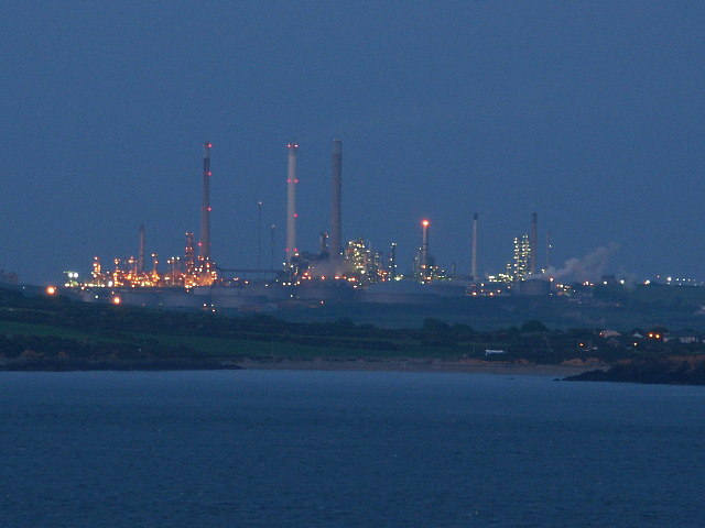 Rhoscrowther Oil Refinery