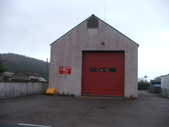 Carradale Firestation.