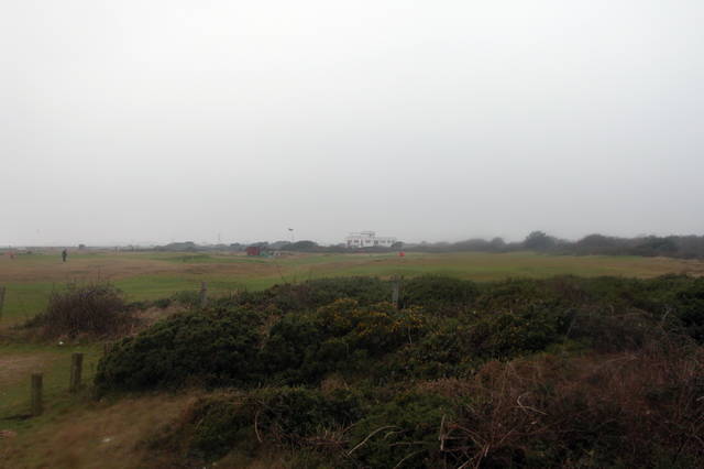 Hayling golf course.