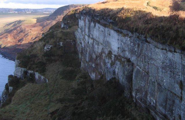 Dramatic clifftop.