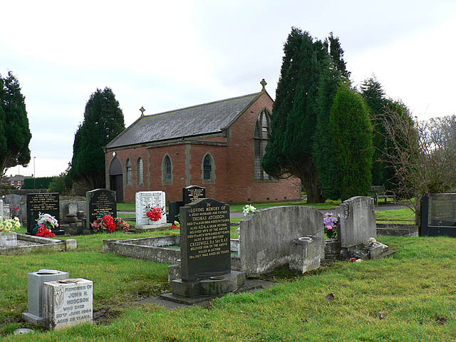 Dudley cemetery and chapel