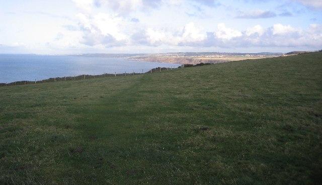 Clifftop field.