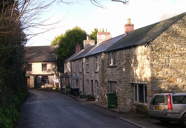 Cottages near St Hilary Church