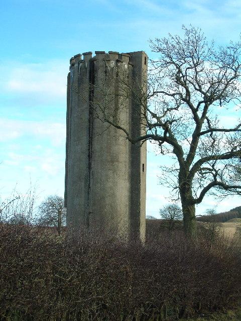 Disused silo