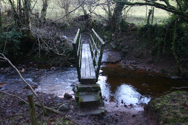 Footbridge over Scargreen Beck