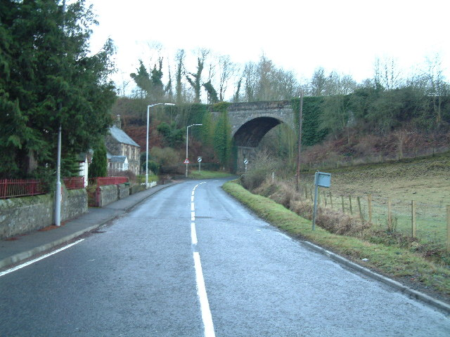 Glenburnie Railway Bridge in Den of Lindores