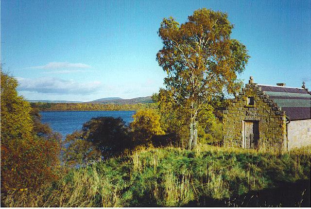 Loch Kinord at Meikle Kinord