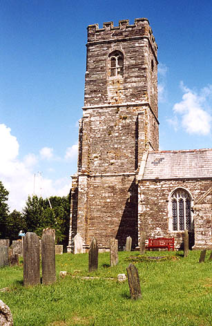 St. Winnow church