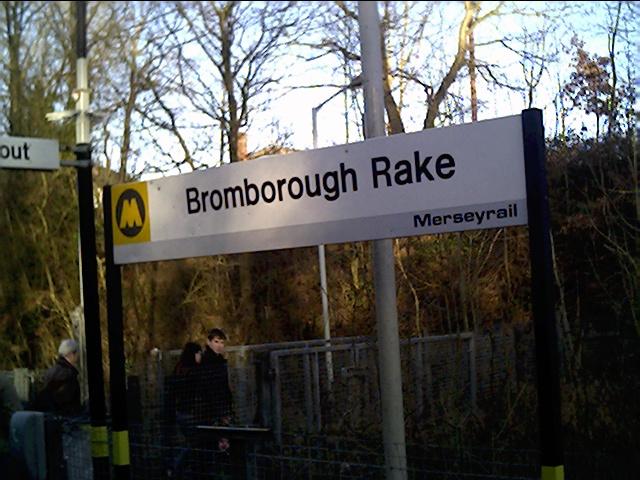 Bromborough Rake Station