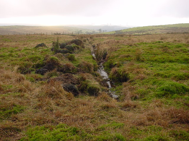 Bog Drain on Swainson Knott