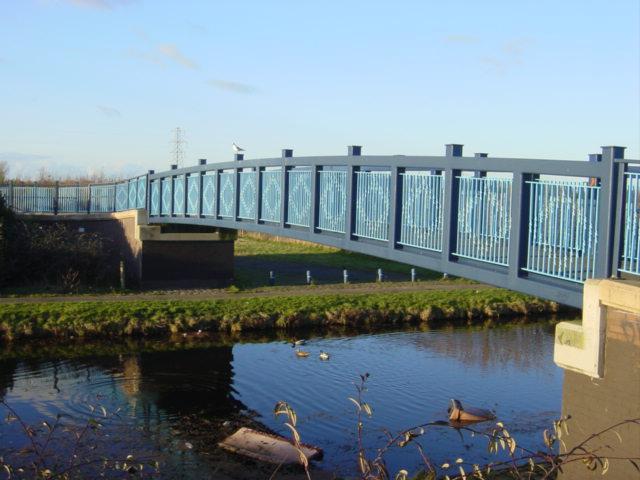 Rimrose Valley Footbridge