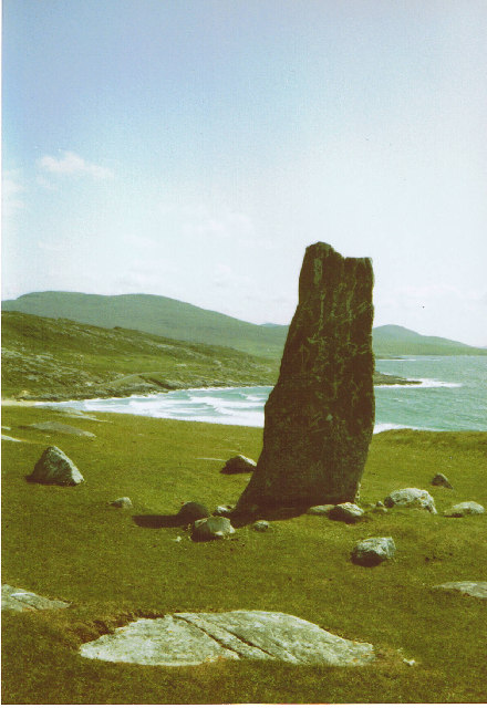 Clach Mhicleoid Standing Stone