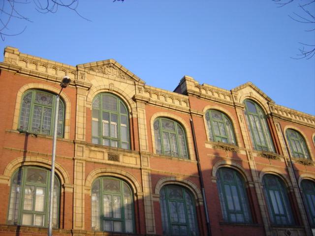 Wesleyan Sunday School, dated 1914, Linacre Road