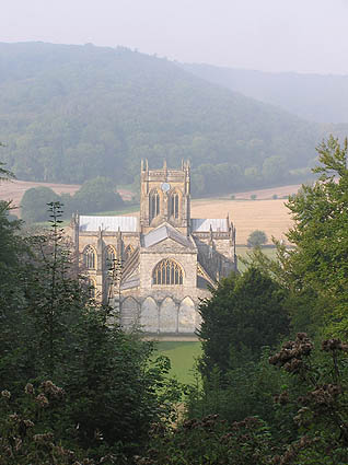 Milton Abbey from St. Catherine's Chapel