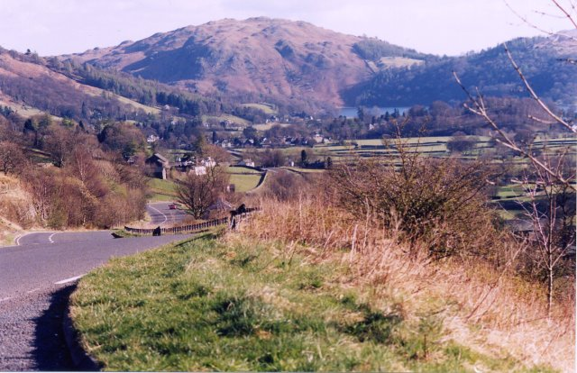 Grasmere from Dunmail raise